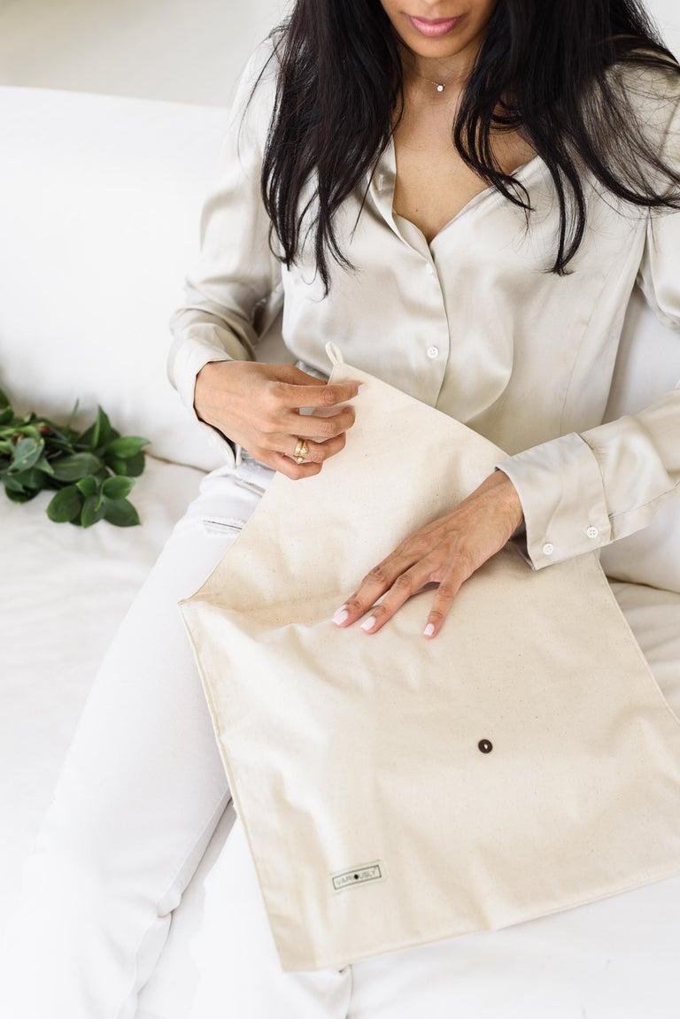 TERRA Throw /  Blanket In Soft Merino For Sale 4