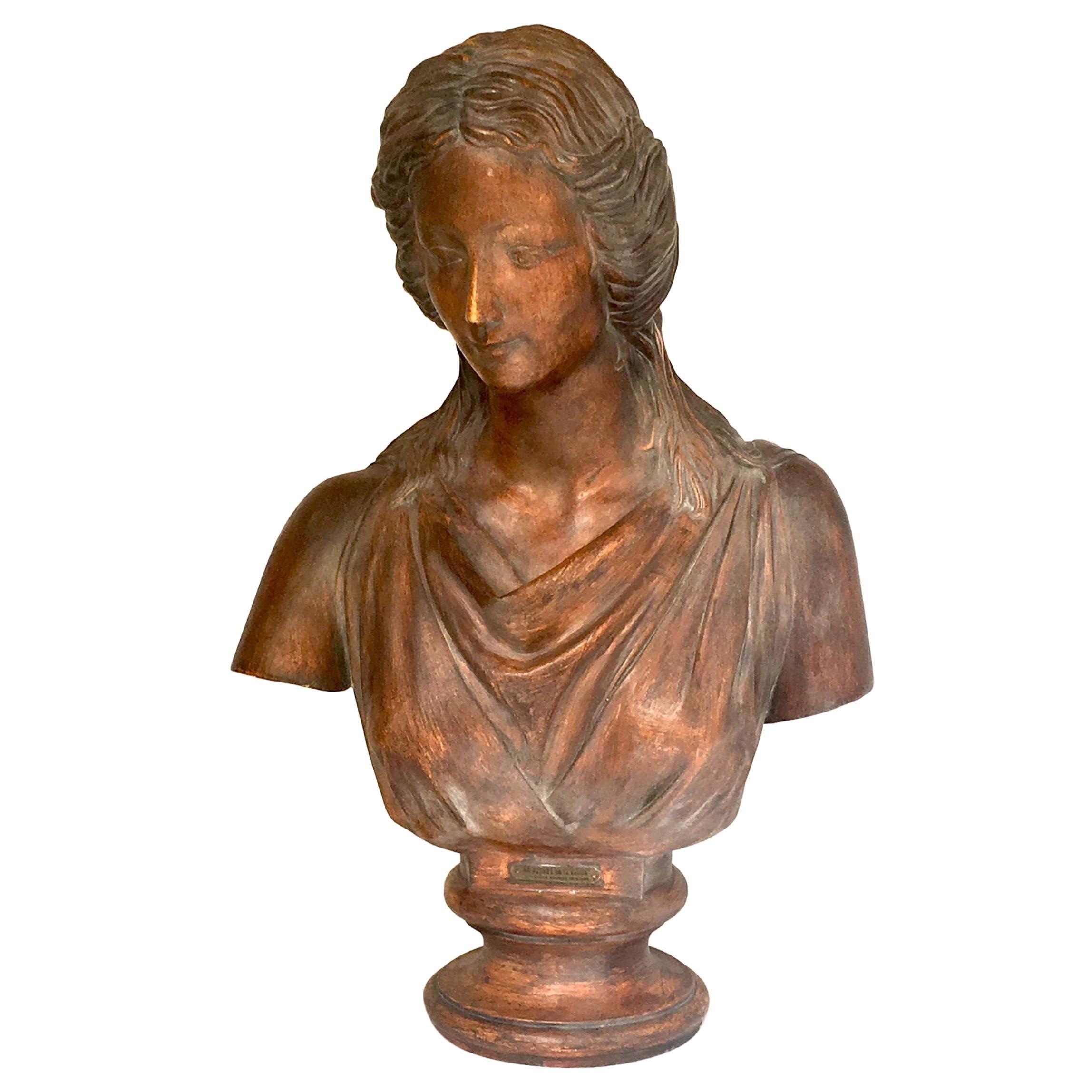 Terracotta Bust by Louis Moreau