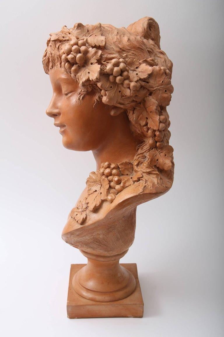 Terracotta Bust For Sale 2