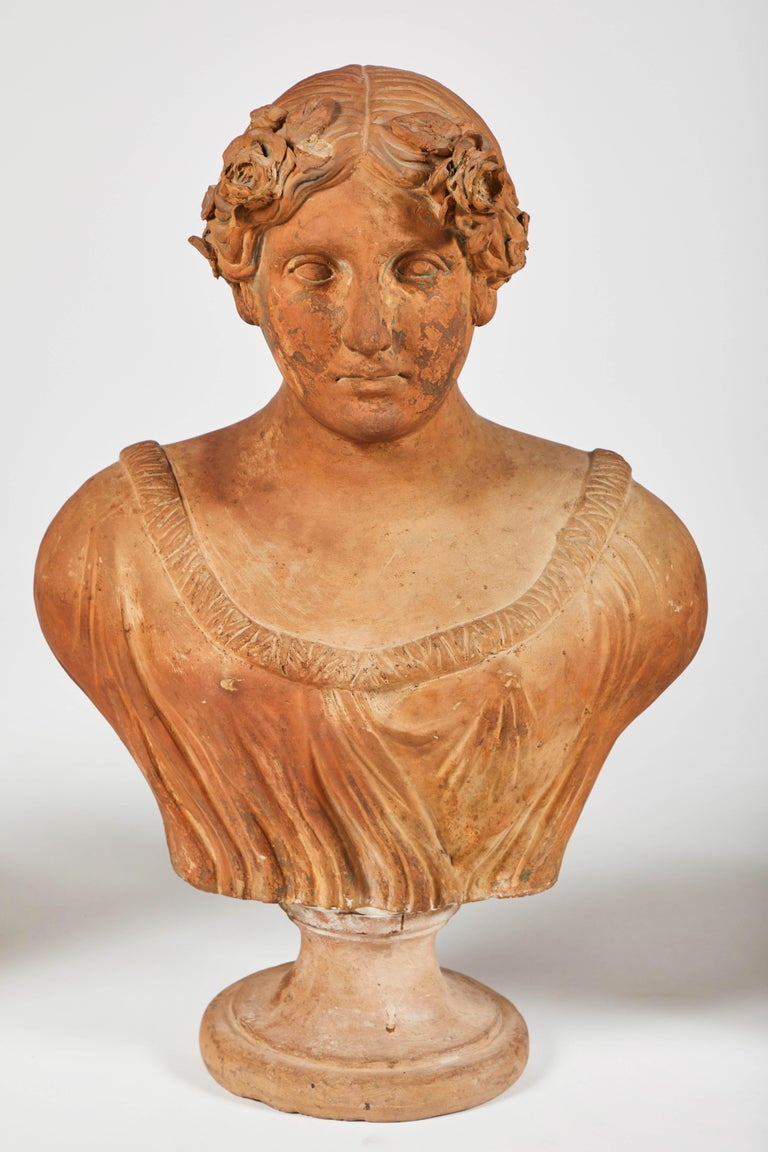 Terracotta Busts of the Seasons, Set of Four For Sale 5