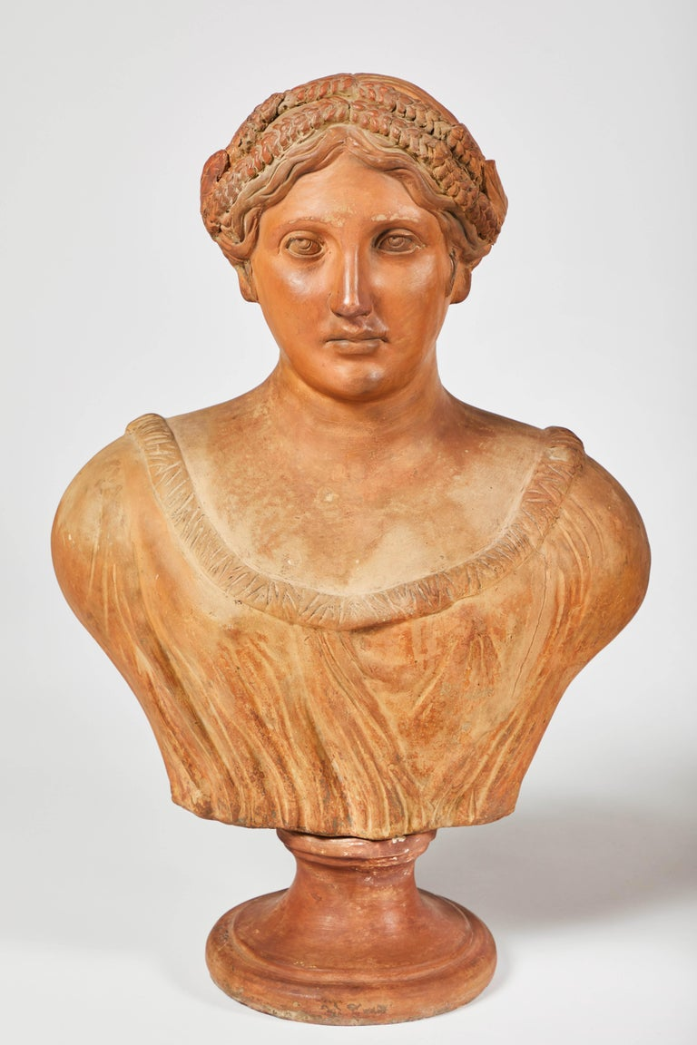 Terracotta Busts of the Seasons, Set of Four For Sale 6