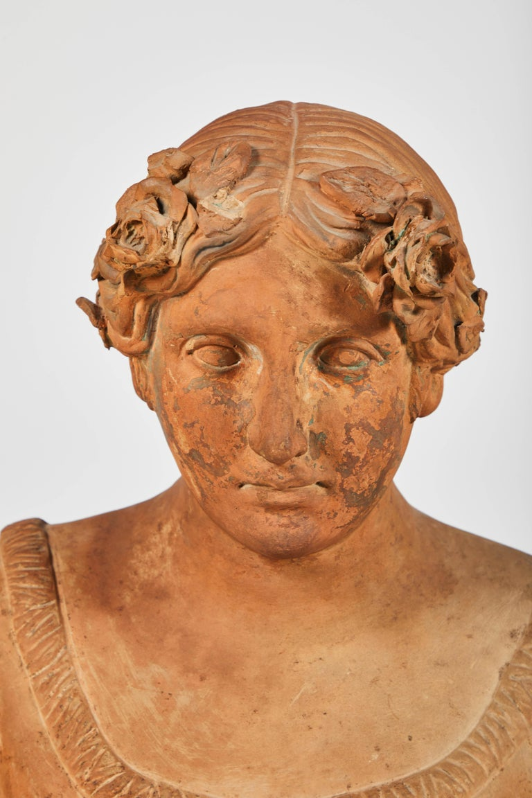 Terracotta Busts of the Seasons, Set of Four For Sale 1