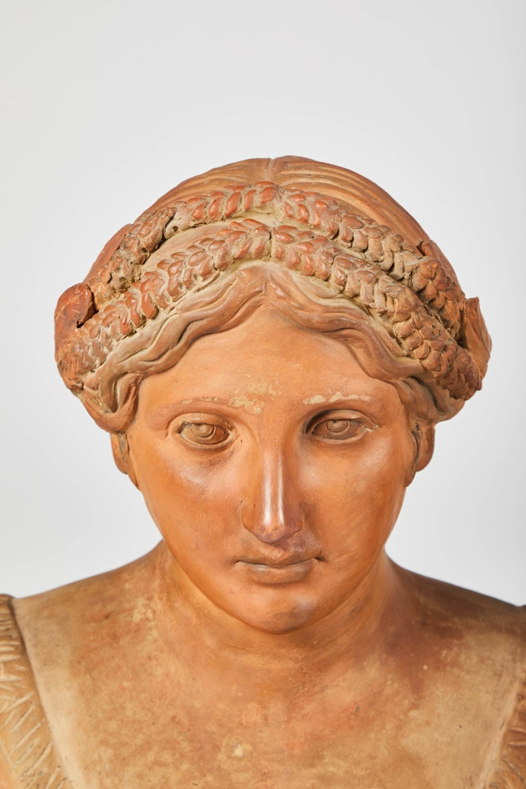 Terracotta Busts of the Seasons, Set of Four For Sale 2