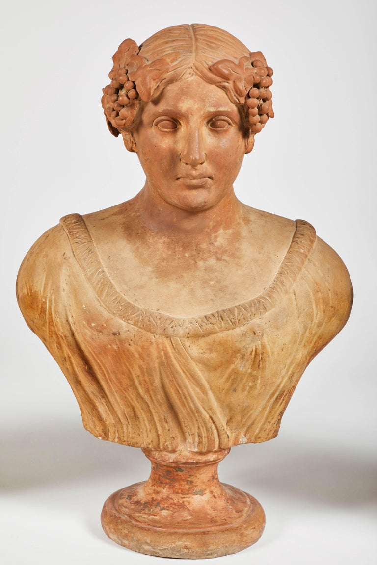 Terracotta Busts of the Seasons, Set of Four For Sale 4