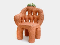 Terracotta Chair by Chris Wolston