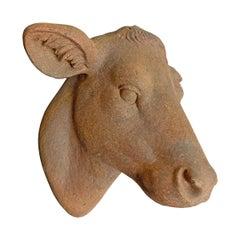 Terracotta Cow Head