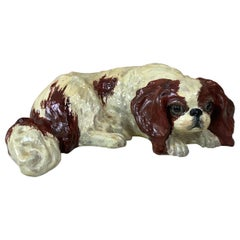 Terracotta Dog Cavalier King Charles Spaniel Bavent