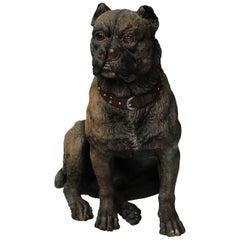 Terracotta Dog, circa 1880