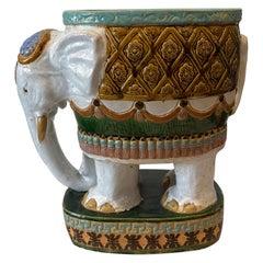 Terracotta Elephant Planter