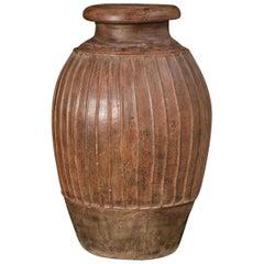 "Terracotta Etruscan Pithos ""Impasto"", 7th-6th Century AD"