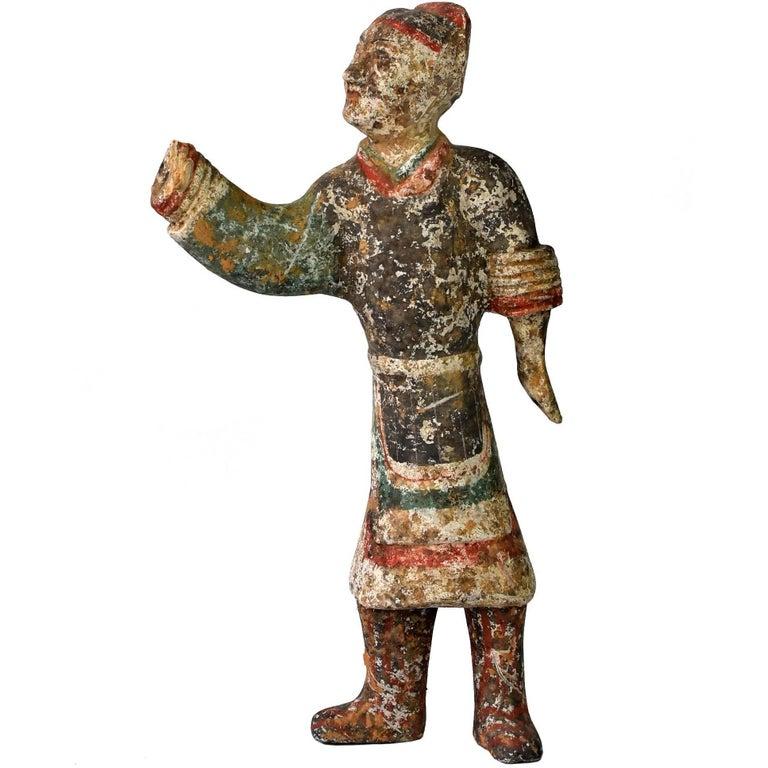 Pottery Figure, Han Terracotta Servant