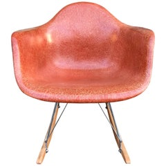 Terracotta Herman Miller Eames RAR Rocking Chair