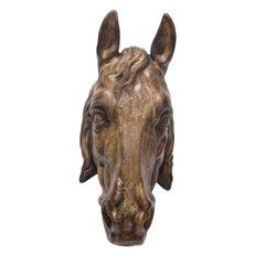 Terracotta Horse Head