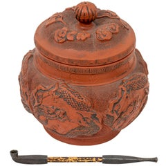 Terracotta Pot and Pipe