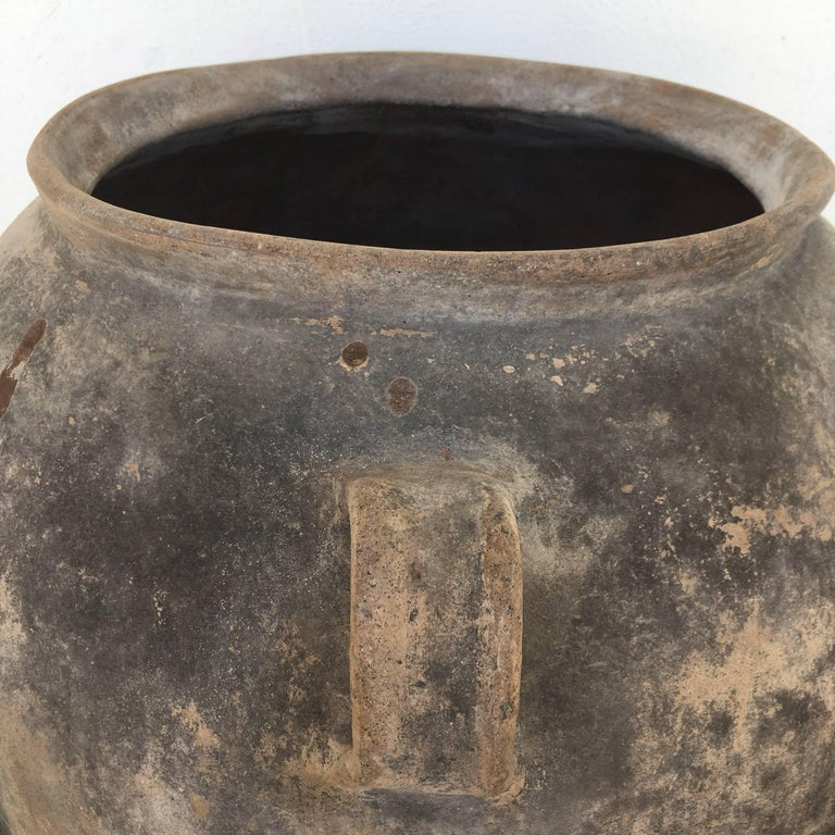 Mexican Terracotta Pot from Mexico For Sale