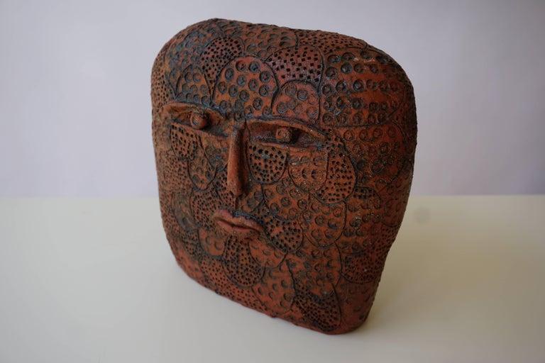 Mid-Century Modern Terracotta Sculpture For Sale