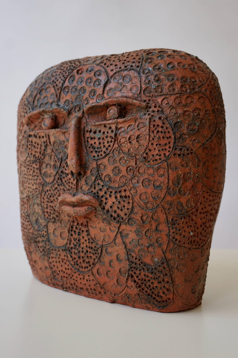 Belgian Terracotta Sculpture For Sale