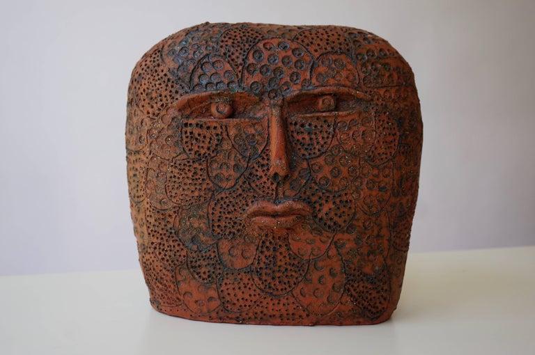 20th Century Terracotta Sculpture For Sale
