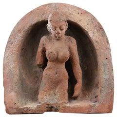 Terracotta Sculpture from Hindu Temple, 20th Century
