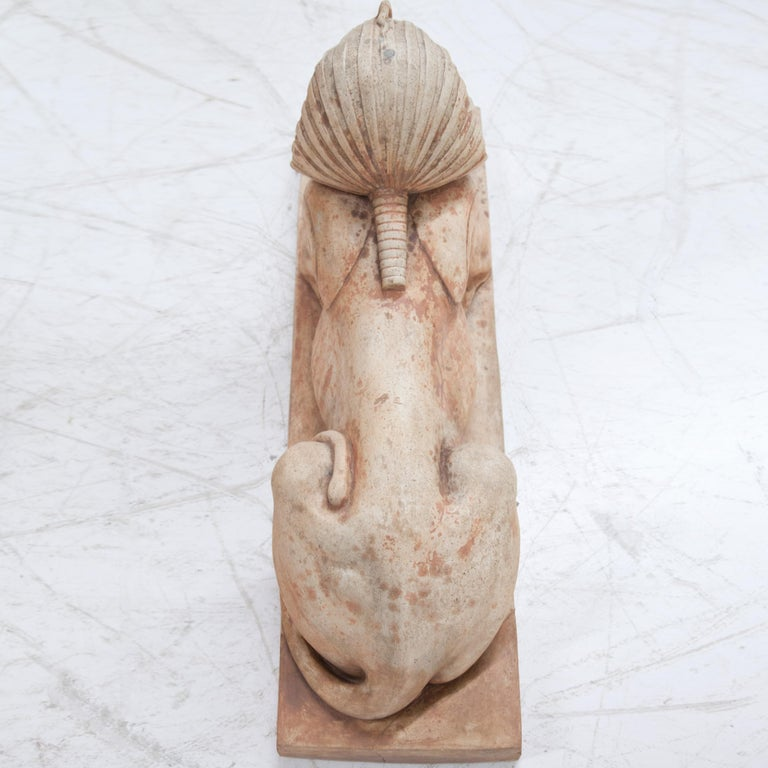 Terracotta Sphinxes, Second Half of the 20th Century For Sale 5