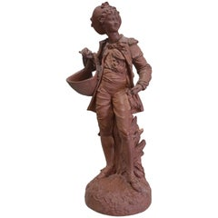 Terracotta Statue of Young Boy