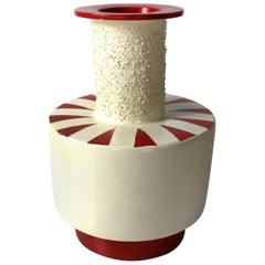 Terracotta Vase 12 by Mascia Meccani