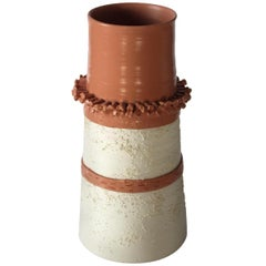 Terracotta Vase 27 by Mascia Meccani