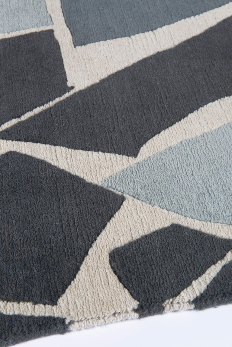 Nepalese Terrazzo Hand-Knotted 10x8 Rug in Wool by The Rug Company For Sale