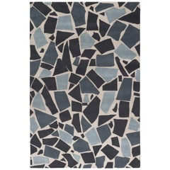 Terrazzo Hand-Knotted Area Rug in Wool by The Rug Company