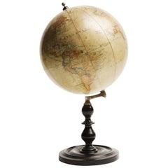 Terrestrial Globe, Ernst Schotte & Co, Berlin, Excellent Shape