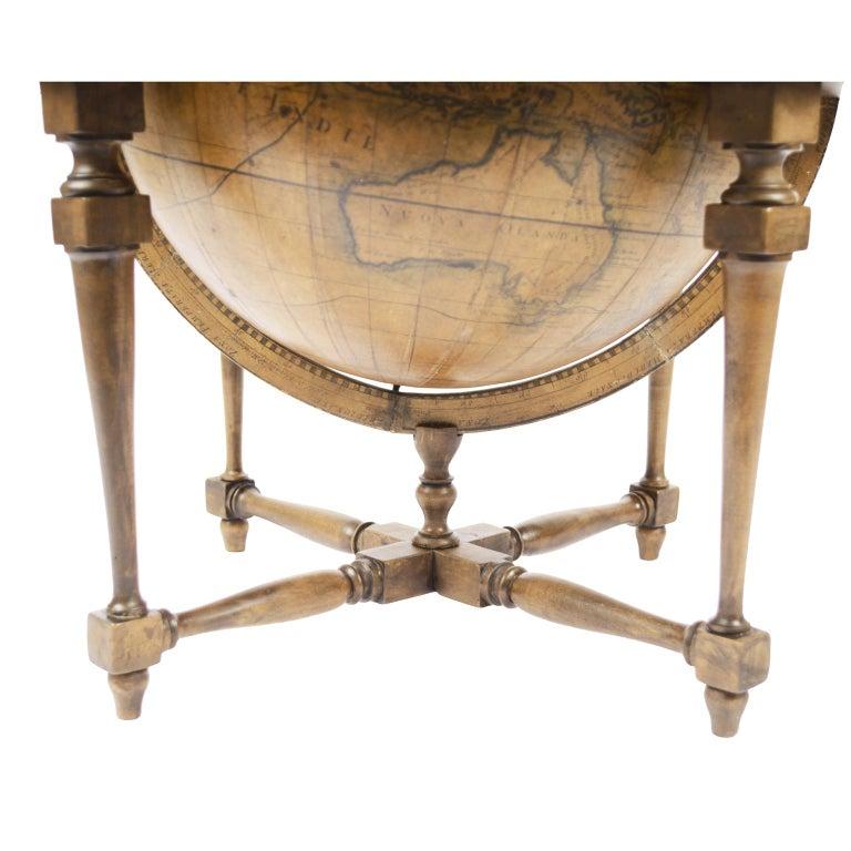 1843 Antique Terrestrial Globe  According to the Knowledge of Giovanni M Cassini For Sale 10