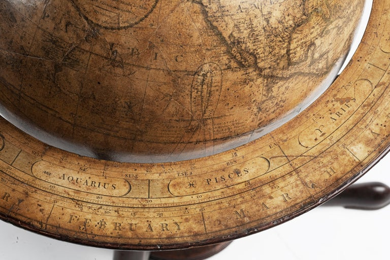 Late 18th Century Terrestrial Globe, Signed Cary, London, 1789
