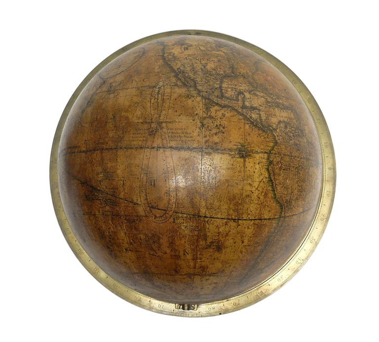 Terrestrial Globe, Signed Cary, London, 1789 1