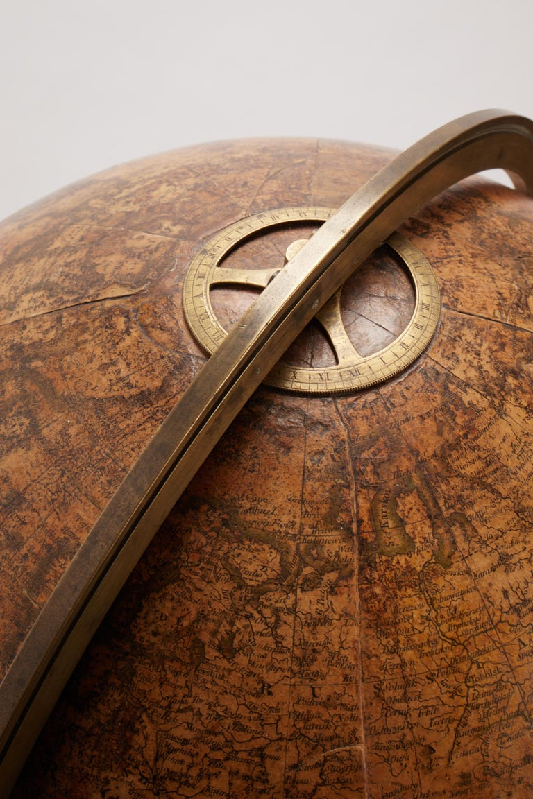 Late 18th Century Terrestrial Globe Signed Cary, London, 1798 For Sale