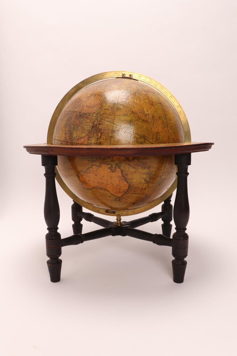 Terrestrial Globe Signed Cary, London, 1800 For Sale 5