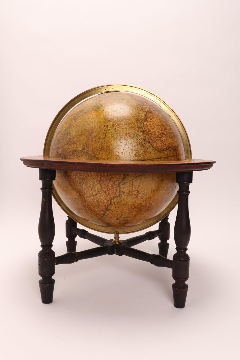 British Terrestrial Globe Signed Cary, London, 1800 For Sale