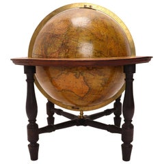 Terrestrial Globe Signed Cary, London, 1800