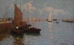 """Fishing Boats, Honfleur"""