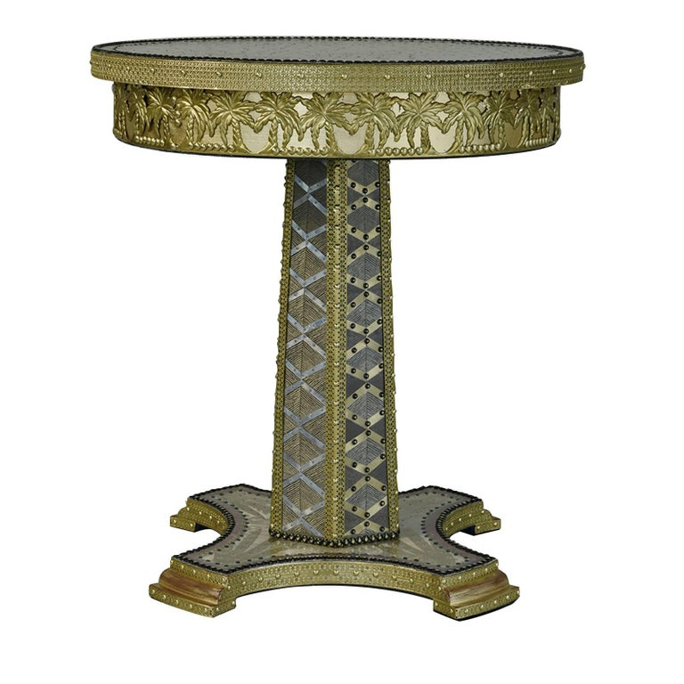 Terrific Palmeto Side Table For Sale