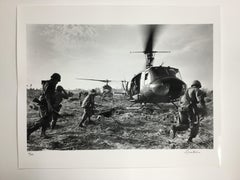 """Forced Landing"" Signed Silver Gelatin Print by Terry Fincher, 16x20"""