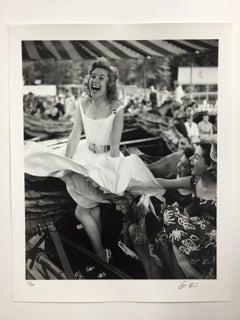 """""""Fun Fair Fun"""" Rare Signed Silver Gelatin Print by Terry Fincher, 16x20"""""""