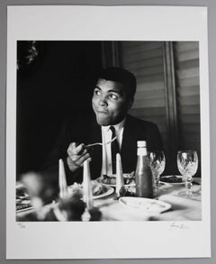 """Muhammad Ali"" Rare Signed Silver Gelatin Print by Terry Fincher, 16x20"""