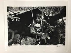 """""""Watch Over Me"""" Rare Signed Silver Gelatin Print by Terry Fincher, 16x20"""""""