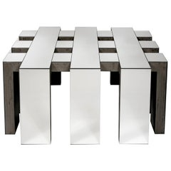 Terry Glace Mirror Coffee Table by Giannella Ventura