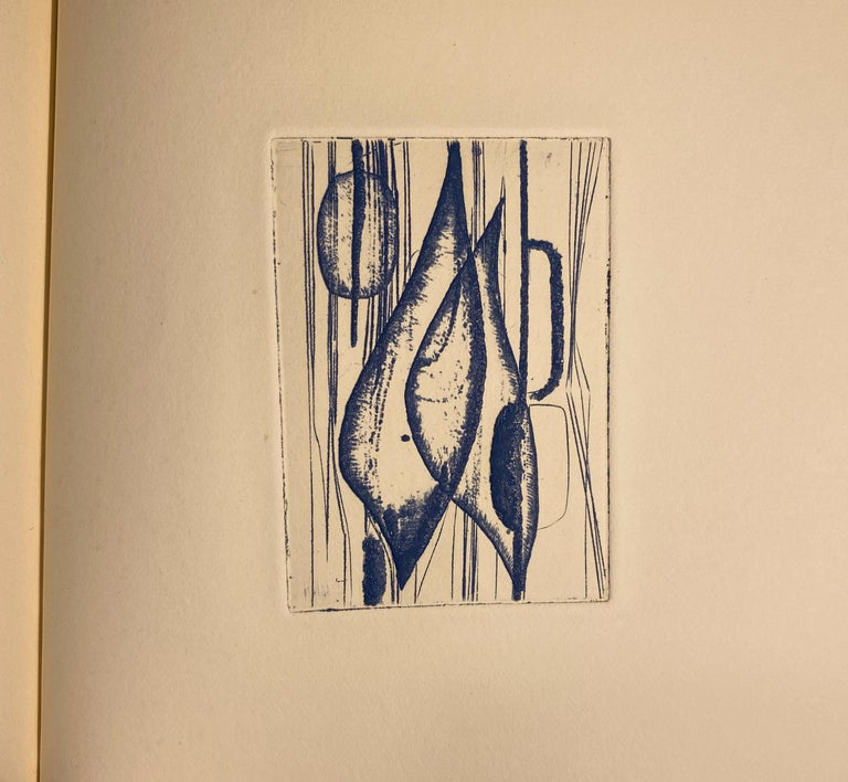 Terry Haass Artist Book with Inscription to Dore Ashton For Sale 1