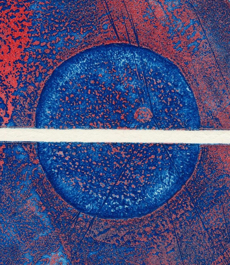 Untitled (Plate 2)  - Abstract Print by Terry Haass