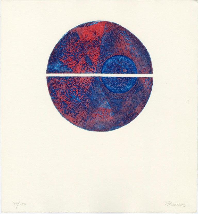 Terry Haass Abstract Print - Untitled (Plate 2)