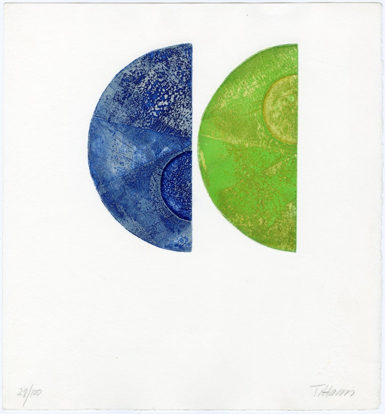 Terry Haass Abstract Print - Untitled (Plate 4)