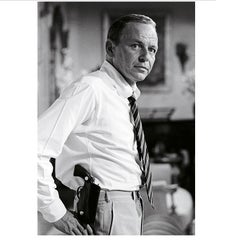 Terry O' Neill black and white photo of Frank Sinatra, 1968. Limited Edition