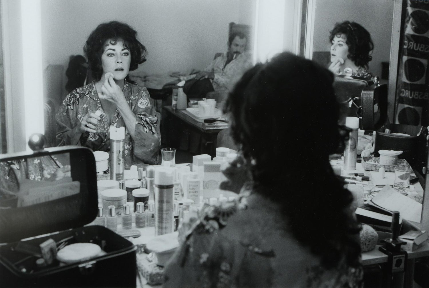 Amy O Neill Nude terry o' neill photograph of elizabeth taylor in black and white, edition  2/50